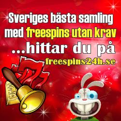 svensk freespins lista