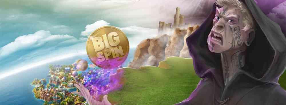 big spins freespins hos casinosaga