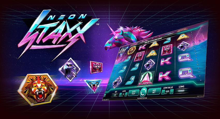 neon staxx 30 freespins