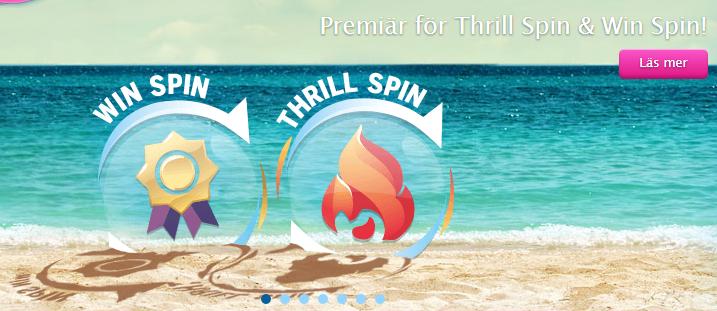 thrill spins och win spin