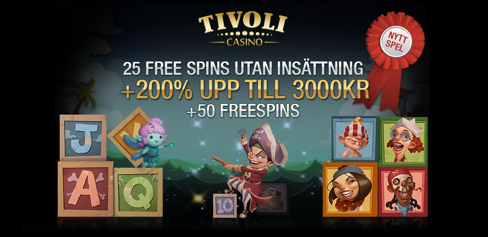 Free spin tivoli casino