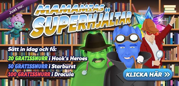 superhjälte-freespins