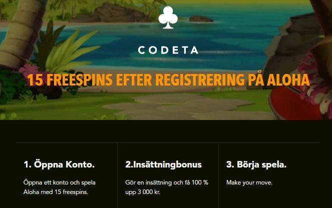 codeta free spins