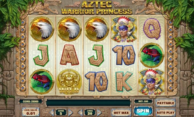 aztec-warrior-princess-slot