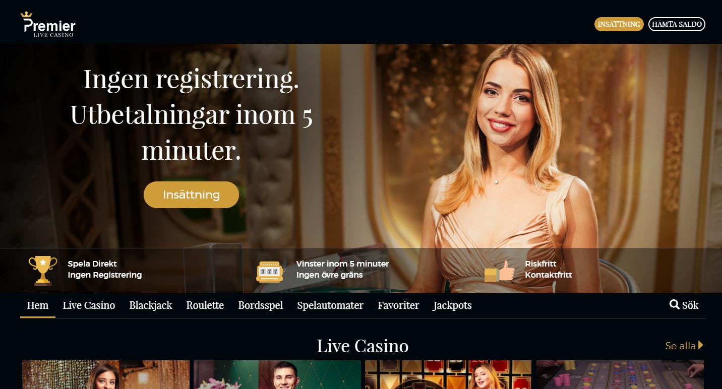 premierlive casino