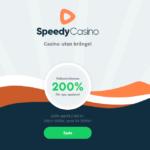Speedycasino sloppar sin välkomstbonus på 200%